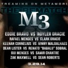 Metamoris 3 Eddie Bravo vs Royler Gracie